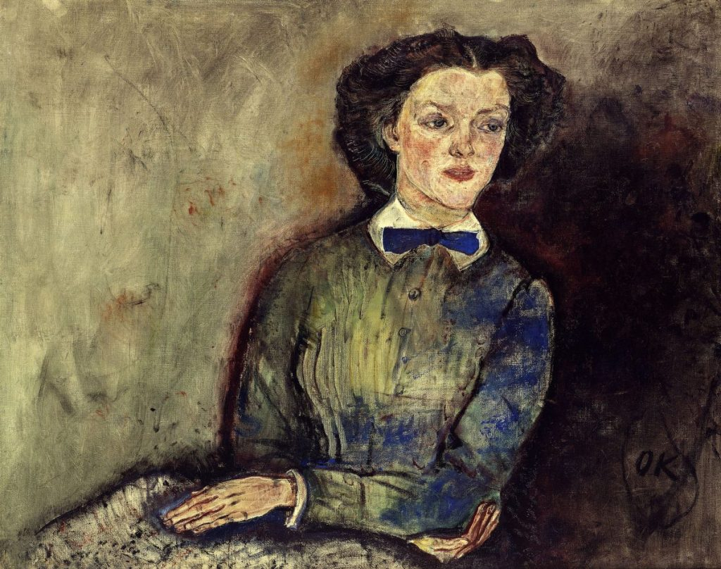OSKAR KOKOSCHKA, Bessie Bruce, Frau von Adolf Loos