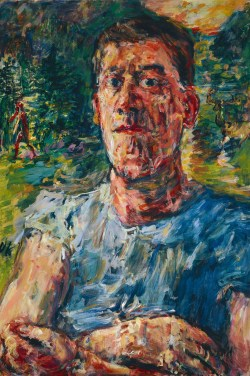 "OSKAR KOKOSCHKA, Selbstbildnis eines ""entarteten Künstlers"","