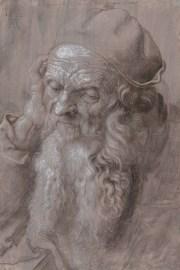 Albrecht Dürer Ausstellung, Albrecht Dürers Zeichnungen, Meisterwerke und Zeichnungen, Ausstellung in der Albertina, Bildnis eines 93-jährigen Mannes