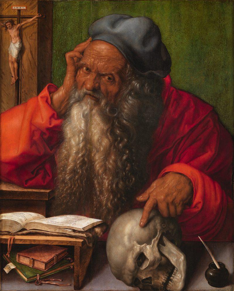 Albrecht Dürer Ausstellung, Albrecht Dürers Zeichnungen, Meisterwerke und Zeichnungen, Ausstellung in der Albertina, Heiliger Hieronymus,