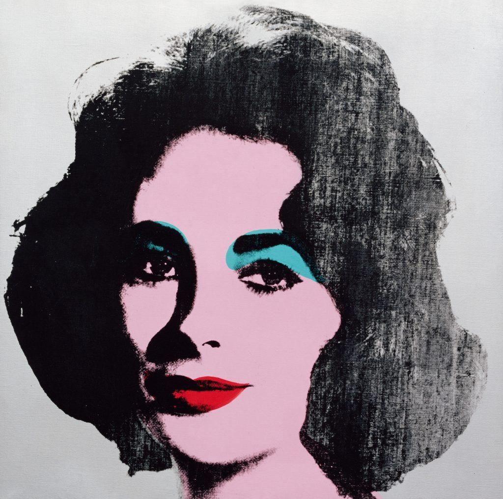 Andy Warhol, Silver Liz, Ausstellung AMERIKA, DISNEY, ROCKWELL, POLLOCK, WARHOL