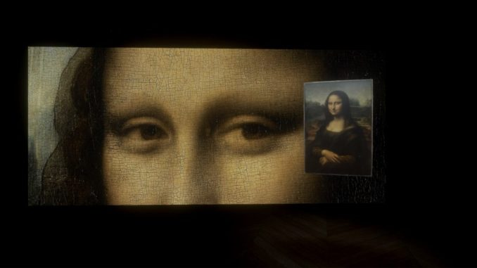 Leonardo da Vinci, Mona Lisa, Beyond the Glass