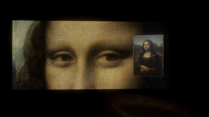 Leonardo da Vinci, Mona Lisa, Beyond the Glass