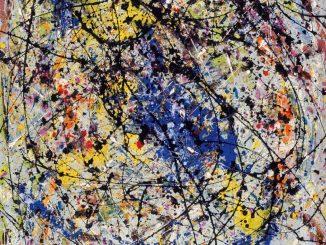 Jackson Pollock, Reflection of the Big Dipper, Ausstellung AMERIKA, DISNEY, ROCKWELL, POLLOCK, WARHOL