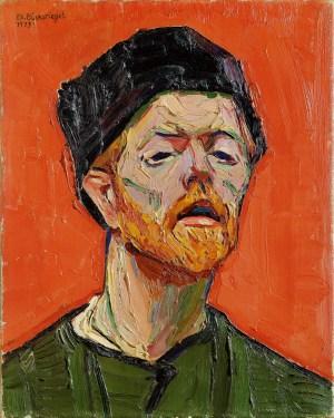 Making Van Gogh, Peter August Böckstiegel, Selbstbildnis, Ausstellung in Frankfurt, Städel Museum, Werke, Gemälde, Portaits