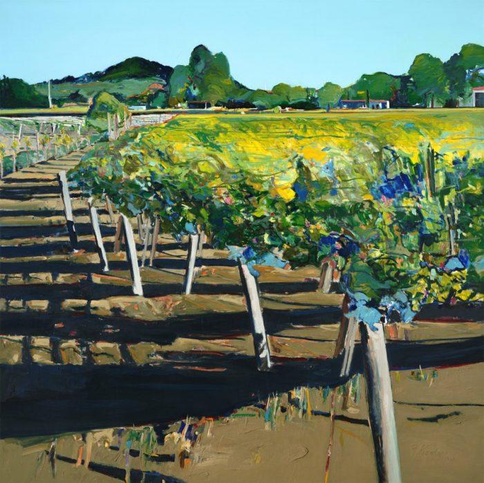 Gregory Kondos, Das Weingut Rutherford, San Francisco, California Dreams, San Francisco – ein Porträt,