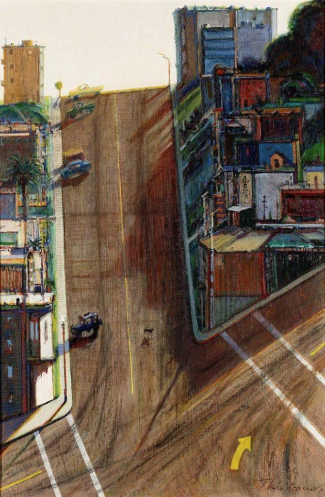 Wayne Thiebaud, Strasse und Schatten, California Dreams, San Francisco – ein Porträt,