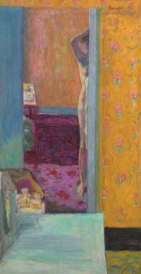 Pierre Bonnard, Akt in einem Interieur, Die Farbe der Erinnerung, Ausstellung im Kunstforum Wien,