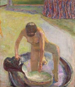 Pierre Bonnard, Akt mit Badezuber, Die Farbe der Erinnerung, Ausstellung im Kunstforum Wien,