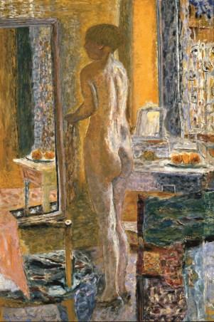 Pierre Bonnard, Akt mit Spiegel, Die Farbe der Erinnerung, Ausstellung im Kunstforum Wien,