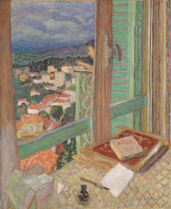 Pierre Bonnard, Das Fenster, Die Farbe der Erinnerung, Ausstellung im Kunstforum Wien,