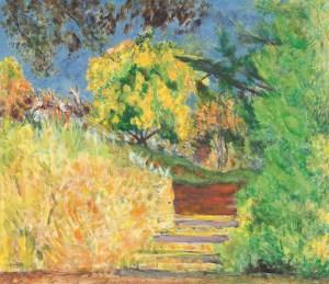 Die Treppe im Garten des Künstlers, Bonnard Werke und Zitate, Ausstellung im Kunstforum Wien,