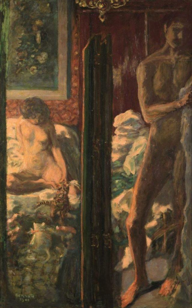 Pierre Bonnard, Die Farbe der Erinnerung, Ausstellung im Kunstforum Wien, Die sonnige Terrasse,
