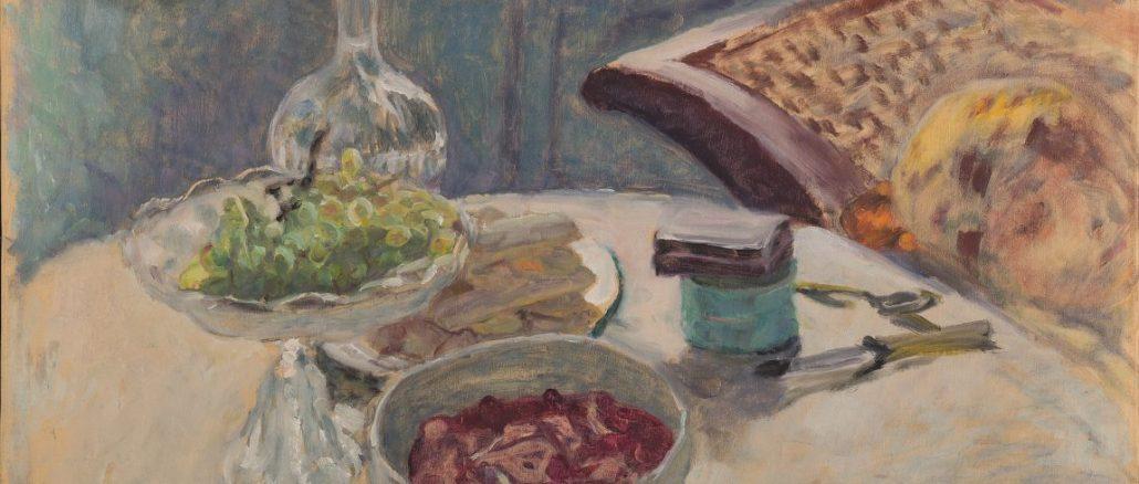 Pierre Bonnard, Pierre Bonnard, Stilleben mit Figur, Die Farbe der Erinnerung, Ausstellung im Kunstforum Wien,