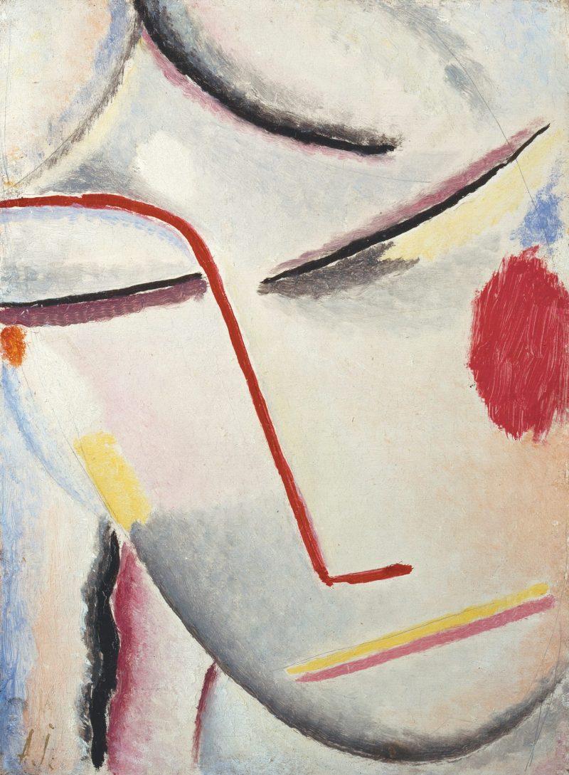 ALEXEJ VON JAWLENSKY, Heilandsgesicht: Seelische Melodie, Deutscher Expressionismus, Ausstellung im Leopold Museum