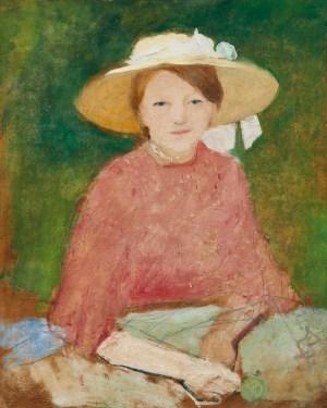 AUGUST MACKE, Porträt Mathilde Macke, Deutscher Expressionismus, Ausstellung im Leopold Museum, die sammlungen braglia und johenning
