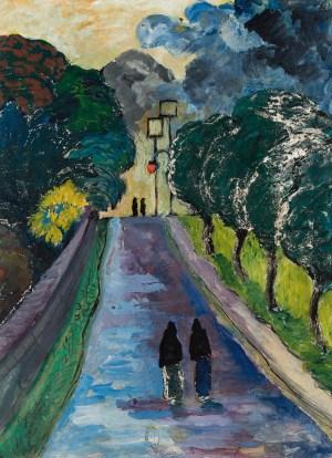 MARIANNE VON WEREFKIN, Die Allee (L'Allée ), JAWLENSKY, Deutscher Expressionismus,