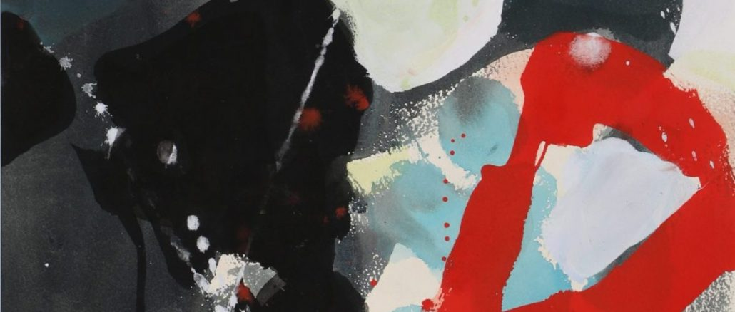 Teruko Yokoi Blackout, Werke, Bilder, abstrakte Gemälde,