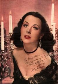 Hedy Lamarr, Lady Bluetooth, Fotografie, Wien, Hollywood, Werbung für Maybelline,