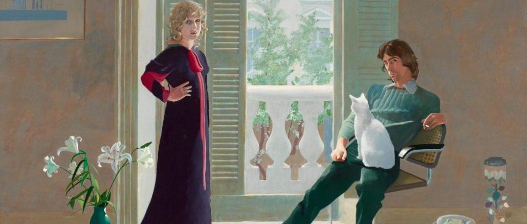 David Hockney, David Hockney Werke, Mr and Mrs Clark and Percy,