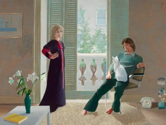 David Hockney, David Hockney Werke, Mr and Mrs Clark and Percy,