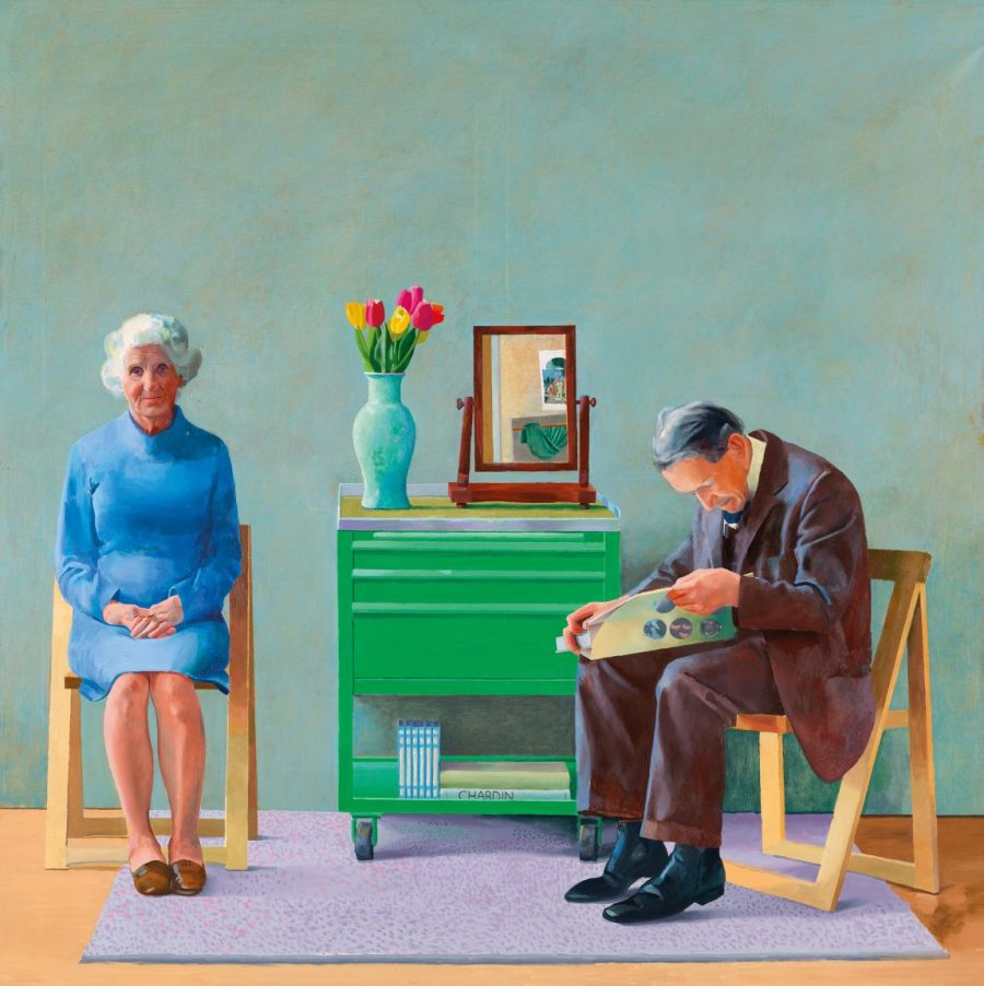 David Hockney, My Parents, David Hockney My Parents, tate,