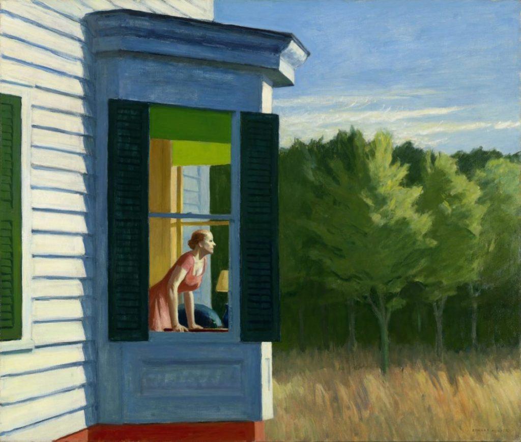 Edward Hopper, Cape Cod Morning, Hoper Ausstellung, Edward Hopper Kunstwerke, Fondation Beyeler