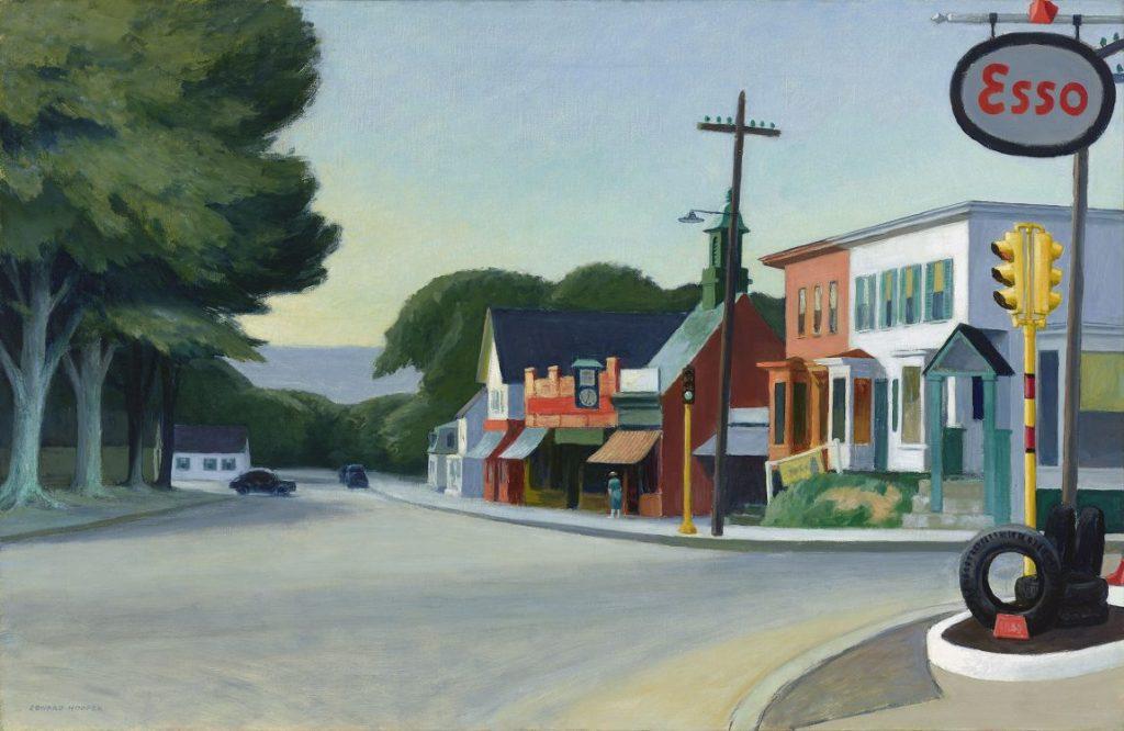 Edward Hopper, Portrait of Orleans, Hoper Ausstellung, Edward Hopper Kunstwerke, Fondation Beyeler