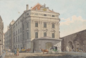 Außenansicht des Kärntnertortheaters in Wien, Bundeskunsthalle Bonn, Theatermuseum Wien