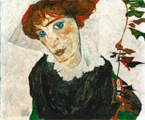 Egon Schiele, Bildnis Wally Neuzil, Wally, LEOPOLD MUSEUM, Wien