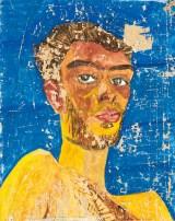 Friedensreich Hundertwasser, Selbstbildnis, Marrakesch, Ausstellung Hundertwasser, Leopold Musem,