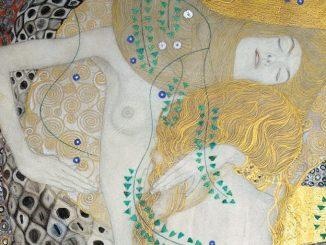 Gustav Klimt, Freundinnen, Wasserschlangen I, Klimt Werke und Gemälde, Belvedere Museum Wien, Goldene Periode