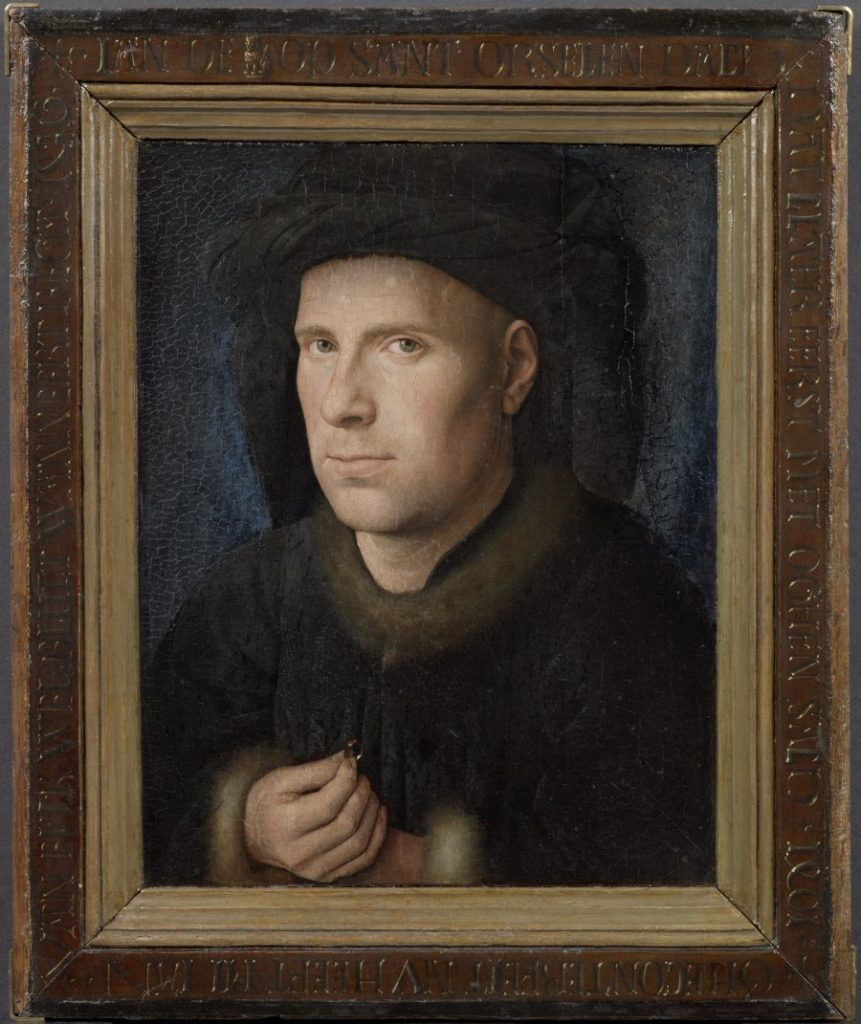 Jan van Eyck, Bildnis des Jan de Leeuw, Museum der schönen Künste, Gent, KHM Wien