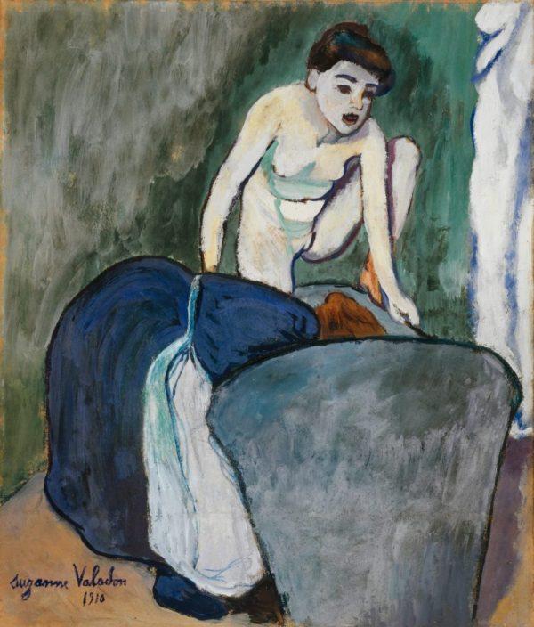 Suzannne Valadon, La grenouille, Kunstmuseum Basel, Meisterwerke der Sammlung Im Obersteg