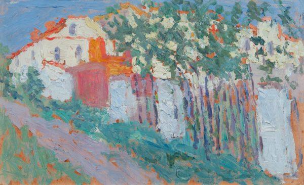 Kasimir Malewitsch, Sommer, Haus und Garten