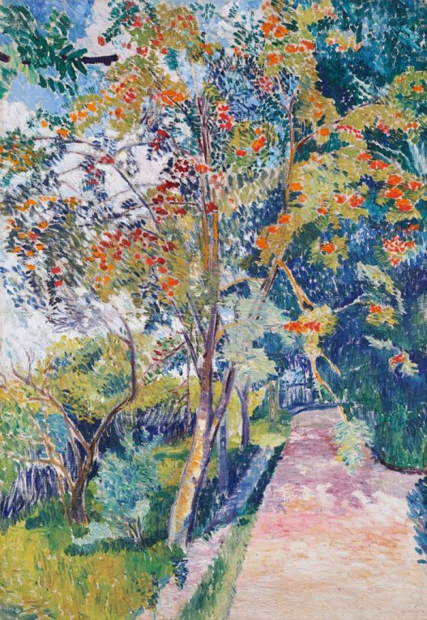 Natalija Gontscharowa, Eberesche, Russischer Impressionismus