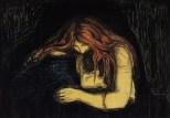 Edvard Munch Vampir, 1895 1902-1914 Privatsammlung Courtesy Galleri K, Oslo © Reto Rodolfo Pedrini, Zürich