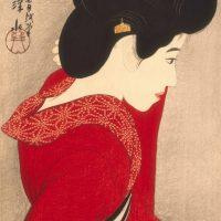 Ito Shinsui - Vor dem Spiegel, 1916