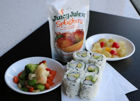 California roll kids meal
