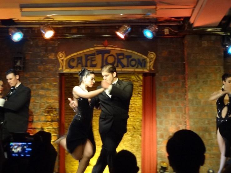 O Tango Argentino no Café Tortoni