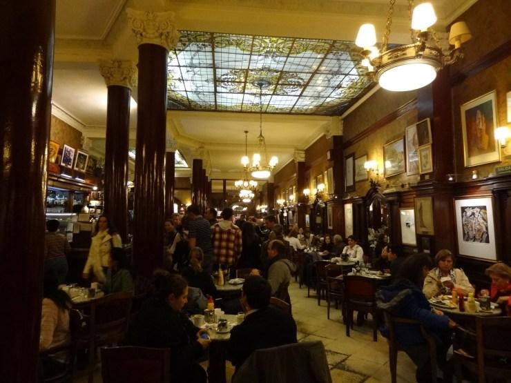 Cafe Tortoni - Tango-Buenos-Aires-Turismo