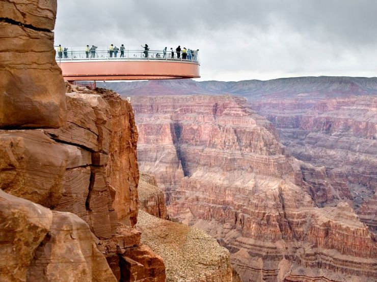 Caminhada pelo Gran Canyon, Arizona