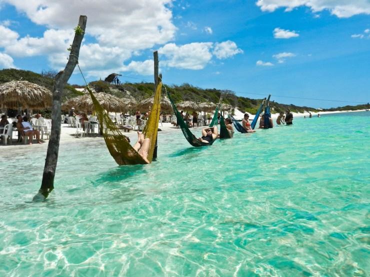 melhores lugares para viajar no Brasil sozinho - jericoacoara