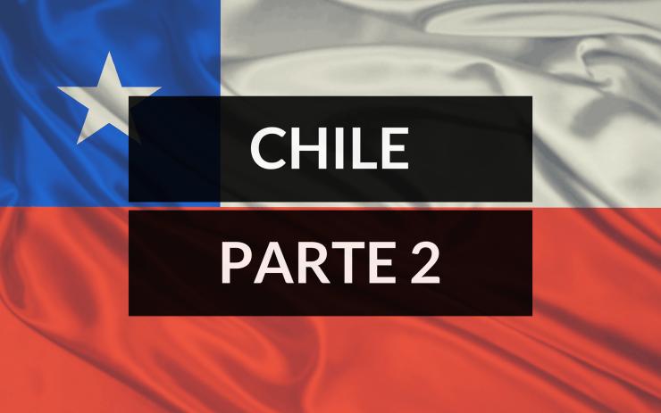 Santiago Chile primeiros passos - chile parte 2