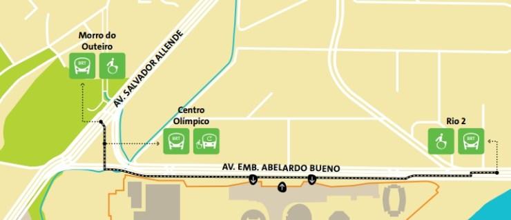 como-chegar-a-barra-da-tijuca-olimpiadas-mapa-parque-olímpico Como chegar a Barra da Tijuca   Guia Olímpico Rio 2016