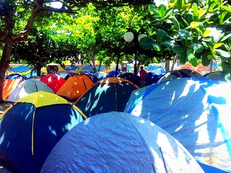 Como chegar a Ilha Grande e onde se hospedar - acampamento