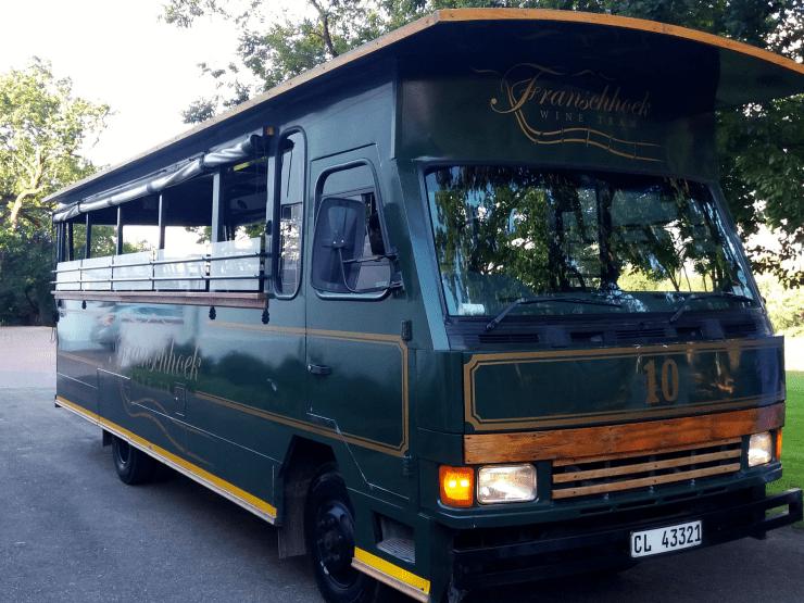 Rota dos vinhos em Cape Town Stellenbosch e Franschhoek wine tram