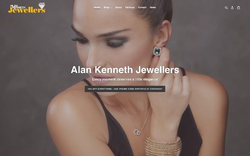 Alan Kenneth homepage