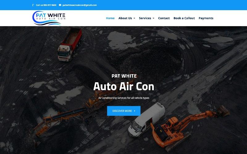 Pat White homepage