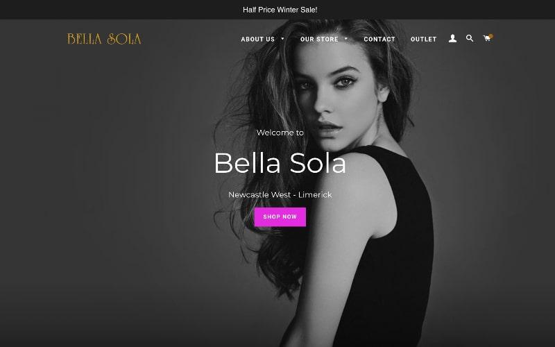 Bel Sola homepage